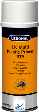 Lesonal 1K Multi Plastic Primer RTS Spray 400ml