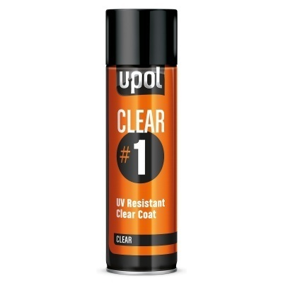 U-Pol Clear #1 kirkaslakka 450ml