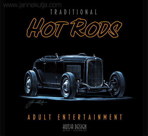 T-paita, Hot Rods Adult 1932