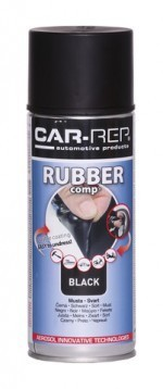 Spray RUBBERcomp Car-Rep Black matt 400ml