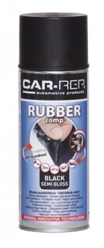 Spray RUBBERcomp Car-Rep Black semigloss 400ml