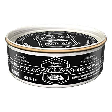 Meguiar's Mirror Bright Paste Wax 227g
