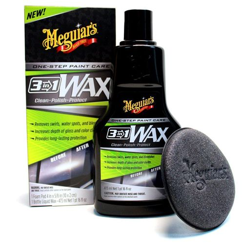 Meguiar's 3 in 1 Wax 472ml