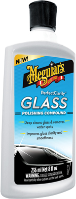 Meguiar's Perfect Clarity Glass Polishing Compound 236ml